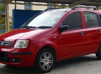 Fiat Panda II - Cena wymiany klocków hamulcowych