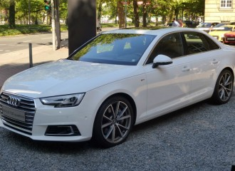 Audi A4 B9 diesel - cena przeglądu okresowego dużego