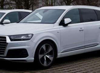 Audi Q7 II diesel - cena przeglądu okresowego małego