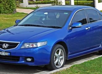 Honda Accord VII - Cena wymiany tarcz hamulcowych