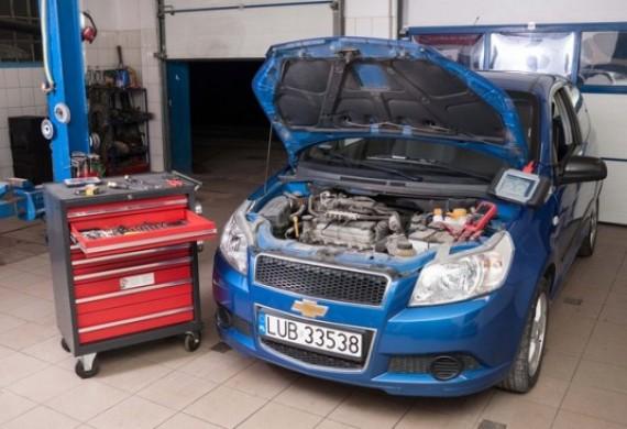 Chevrolet Aveo, problem z instalacją elektryczną i naprawa ECU.