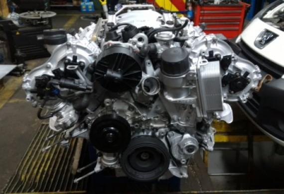 Naprawa tego silnika, z doprowadzeniem do takiego stanu to około 40 dni pracy.