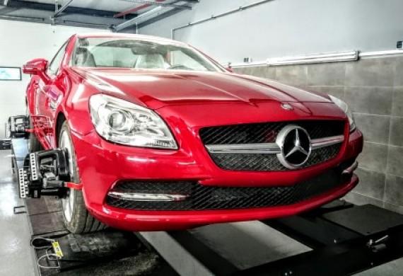 Geometria Mercedes SLK 2015r.