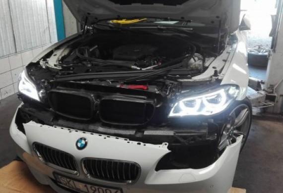Wymiana i kodowanie modułu TMS w BMW serii 5 F11 z Full Led