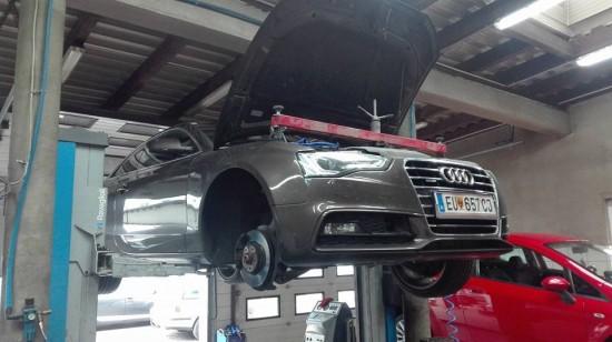 Uszczelnienie silnika w Audi A5