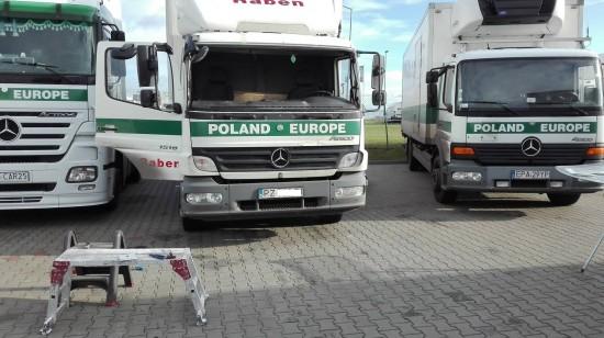 Wymieniamy Szyby Również w Samochodach Ciężarowych