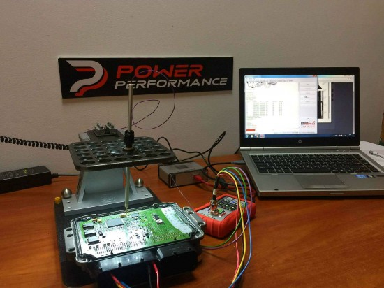 Programowanie sterownika silnika