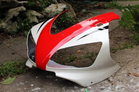 Lakierowanie elementów motocyklowych