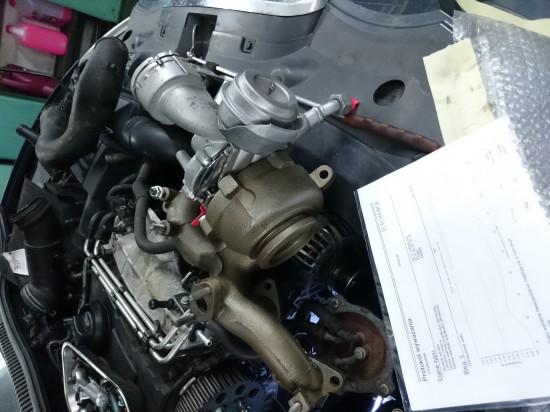 Seat Leon - regeneracja turbosprężarki wraz z wyminą rozrządu.