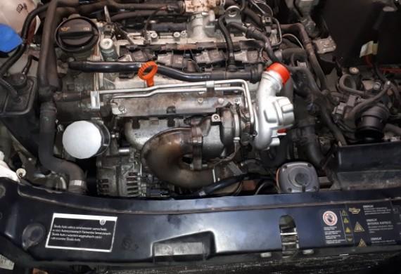tu mamy turbo zamontowane  teraz tylko reszta i odpalamy