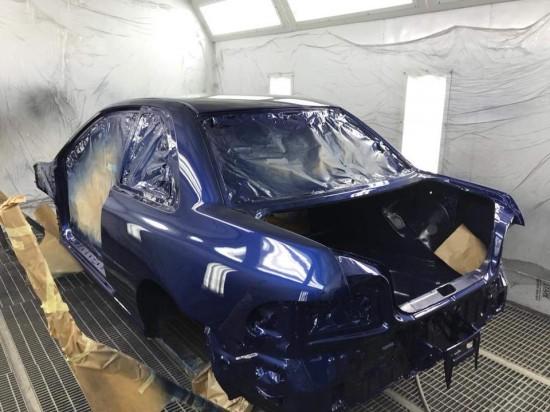 High Class Service odbudowa blacharsko lakiernicza Subaru Impreza GT