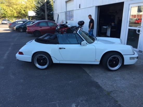 Porsche 911 964 cabrio 4x4