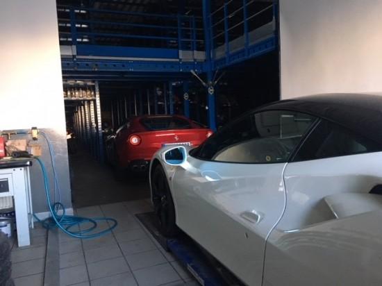 Ferrari Ferrari Ferrari everywhere