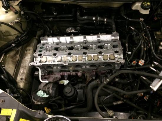 Volvo V50 remont silnika.