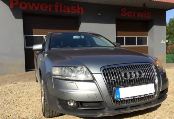 Audi A6 C6 3.0 TDI przyjechało z uszkodzonym filtrem dpf. Wyjechało uzdrowione :)