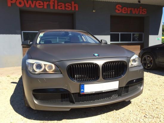 BMW serii 7 tuning silnika