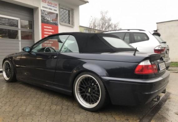 BMW M3 nie miała siły wjechać na stanowisko . Po naprawie jest super autkiem