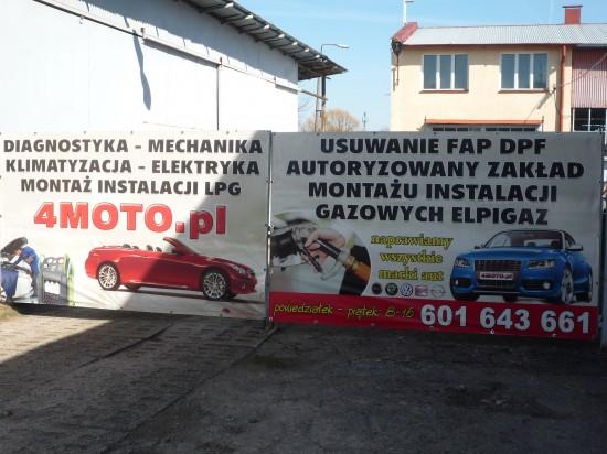 4moto.pl Poznańska 78, wjazd w Słoneczną, zdjęcie 3
