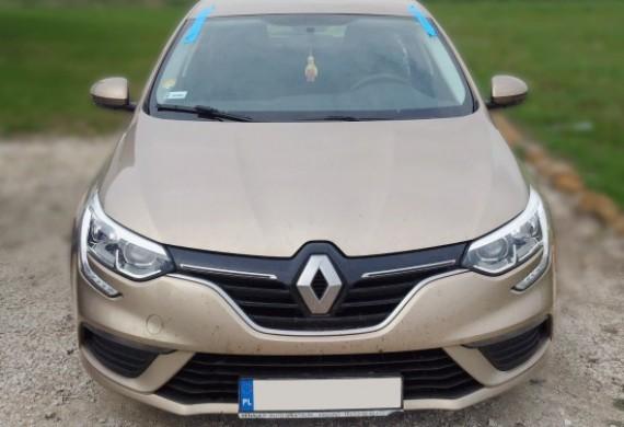 Na zdjęciu widzimy najnowszy model Renault Megane IV