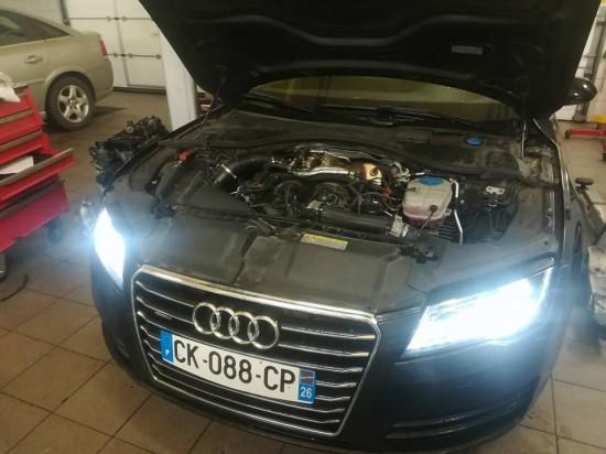 Audi A7 3.0 V6 TDI - wymiana rozrządu i serwis olejowy.