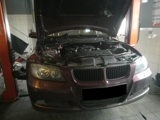 BMW E90 320d 164KM - chip tuning i usunięcie filtra cząstek stałych (DPF).