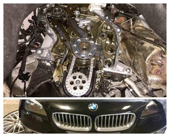 Wymiana rozrządu BMW F11 525XD