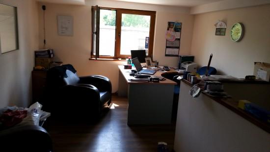 w biurze warsztatu