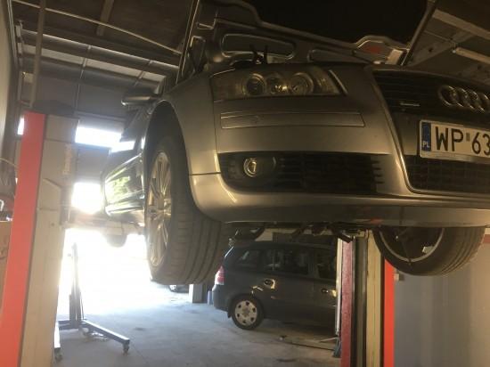Wymiana rozrządu Audi A8 4.0TDI