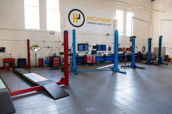 Wyposażenie HighWay Serwis
