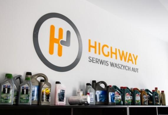 Logo HighWay Serwis w Biurze Obsługi Klienta