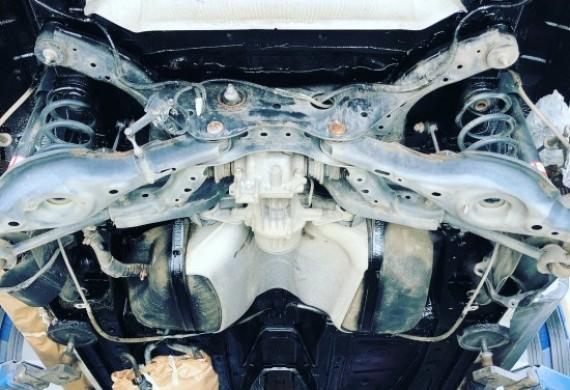 Konserwacja podwozia Mazda CX5