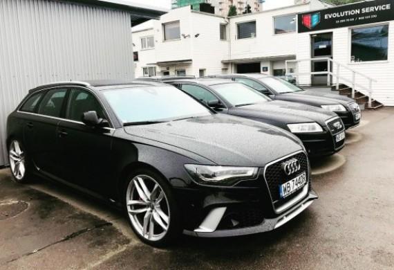 Oto nasza mała kolekcja Audi :) Ta marka chyba Nas lubi :)
