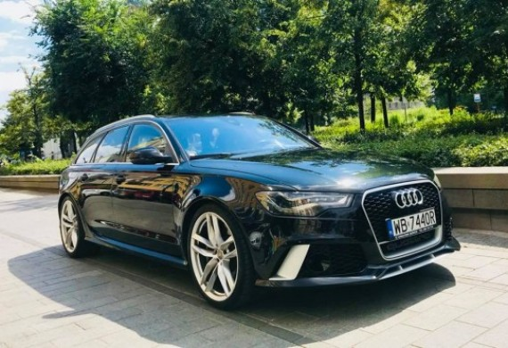 W Evolution Service istnieje również możliwość wynajęcia pięknego Audi RS 6 4.0 v8 tfsi 560 KM