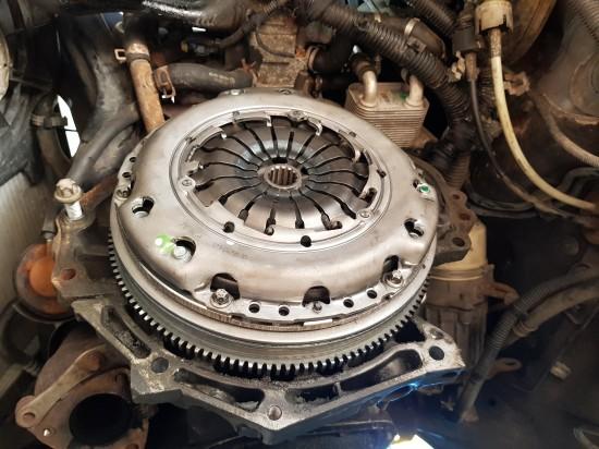 Opel astra H uszkodzone sprzęgło