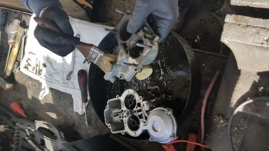 Naprawa gaźnika fiat 125p