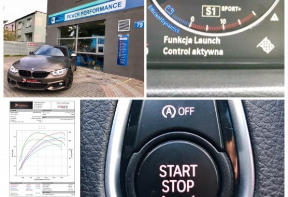 Chiptuning #BMWf36 420D 190ps. Seria 182 km i 422 Nm, po modyfikacji --> 220 km i 492 Nm. Dodatkowo zaaplikowaliśmy sportowe ustawienia skrzyni biegów z funkcją #LUNCHontrol oraz dezaktywowaliśmy automatyczne załączanie #STARTstop.