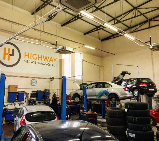 Pojazdy w serwisie HighWay Serwis