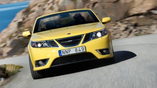 Saab Cabrio 9-3 Yellow Vector 2.8 V6