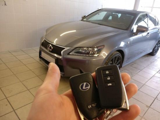 Lexus GS450, rocznik 2016
