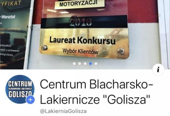 """Zapraszamy do odwiedzenia i komentowania prac na naszym Facebooku: Centrum Blacharsko-Lakiernicze """"Golisza"""""""