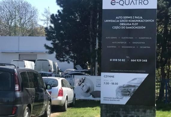 E-QUATRO Auto Serwis z pasją, Likwidacja Szkód Komunikacyjnych, Naprawy powypadkowe