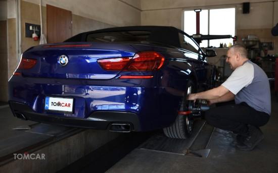 Mocne BMW wymaga precyzji