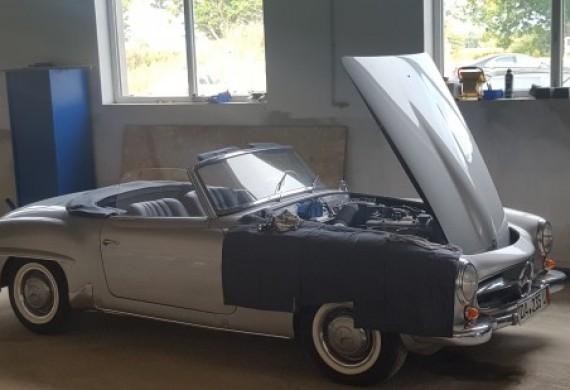Serwisujemy Mercedesy od lat 60 do współczesnych
