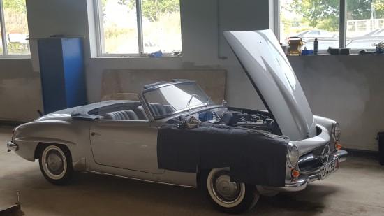 Mercedes W190 SL