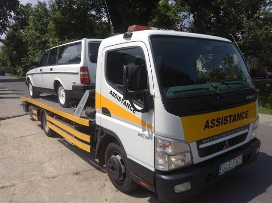 Laweta Łódź - Transport pojazdów osobowych