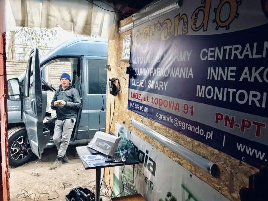 Egrando - Punkt montażu Łódź