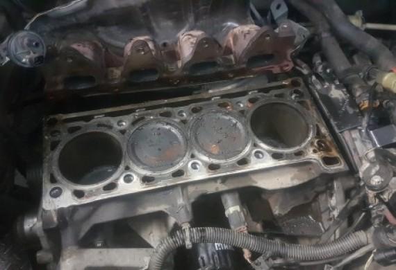 Remont silnika po zerwanym pasku rozrzadu