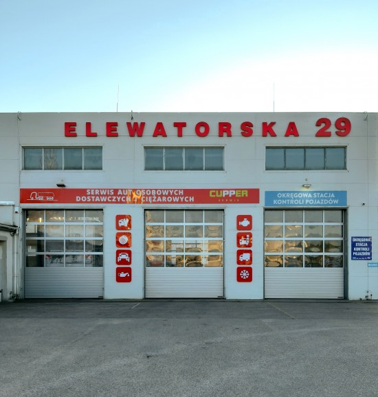 CUPPER - Serwis aut osobowych, dostawczych, ciężarowych  Białystok