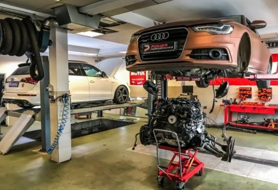 Wymiana zestawu rozrządu Audi A6 3.0 BiTDI. Dodatkowo modyfikacja układu wydechowego i modyfikacja oprogramowania sterownika silnika