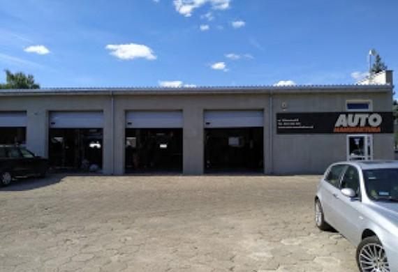 serwis widok zewnątrz auto manufaktura